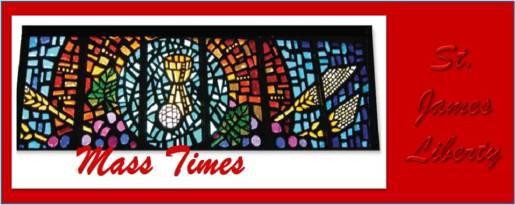 St  James Catholic Church » Mass and Sacraments