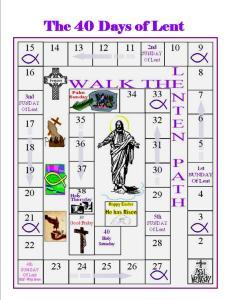 40 days of Lent