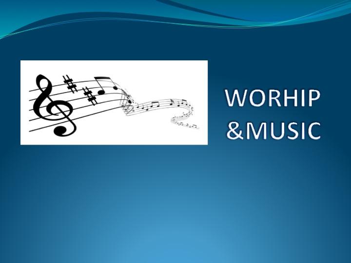 Survey for Music Minister