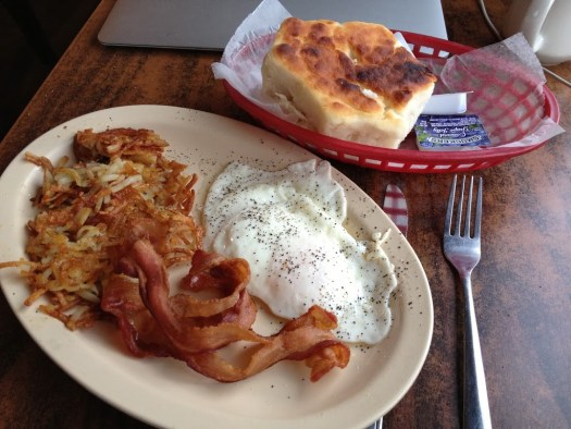 Breakfast at the Rusty Fork in Elkhorn City