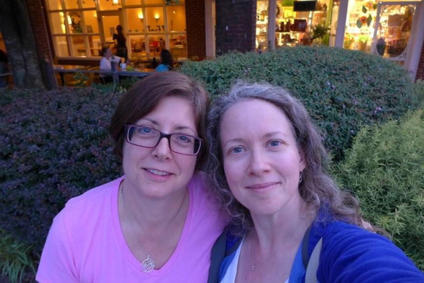 Kathy and me.