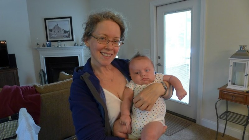 Me with my grand-nephew Sirius, Creedmoor