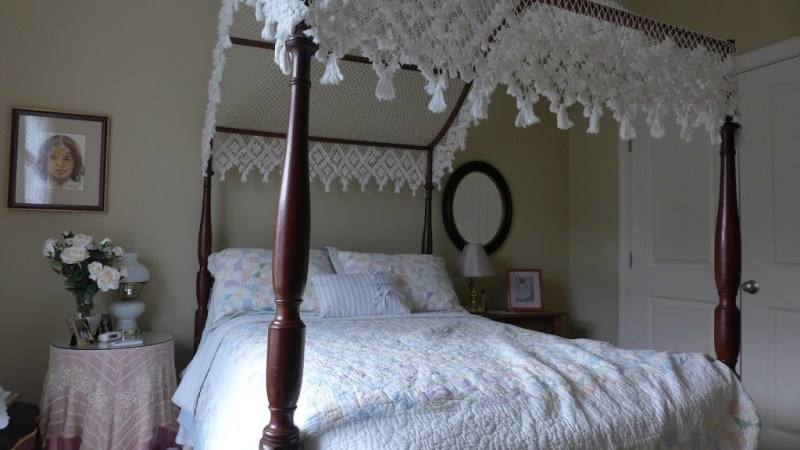 "The family ""Princess Bed."" Cousin's house, Fuquay-Varina, North Carolina."