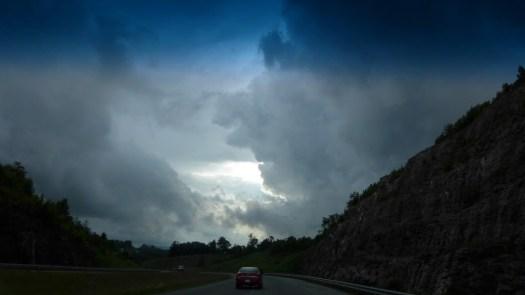 US 421 heading into Boone, NC