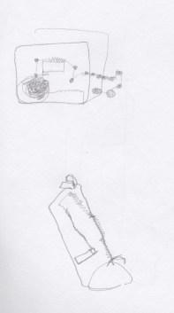 Radio, pencil case