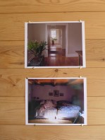 """Open Studio - space 7, photographs from """"pictures from home"""" series"""