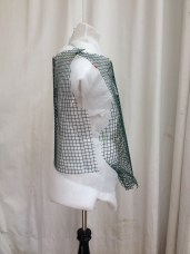 Side View, mesh armature