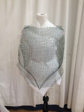 Front View, mesh armature