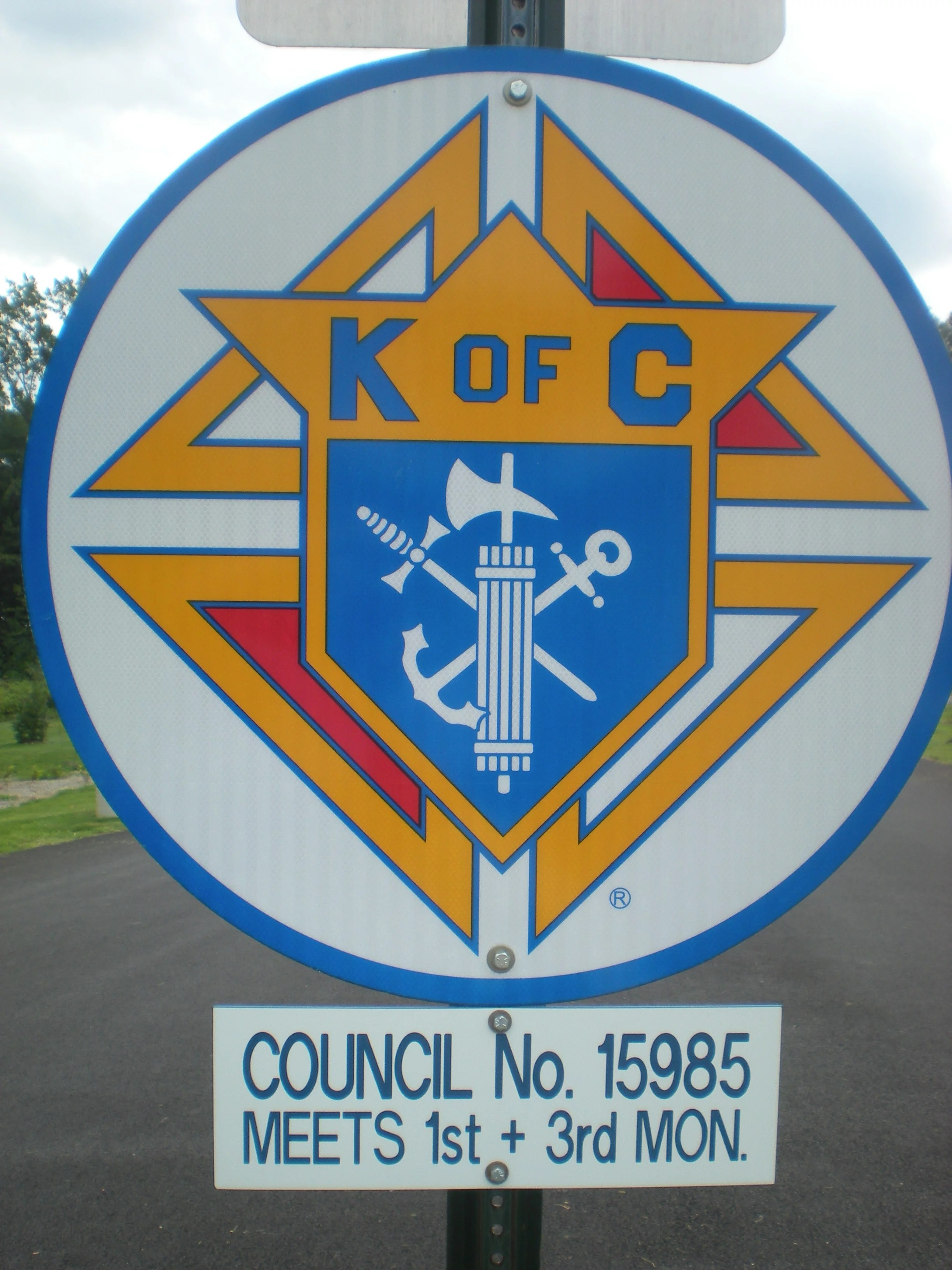 Knights Of Columbus Signage