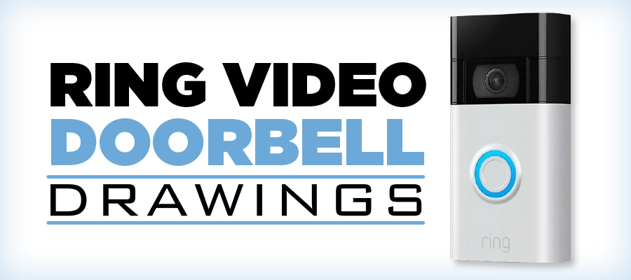 Ring Video Doorbell Drawings