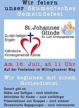 Plakat Gemeindefest A4 Klein