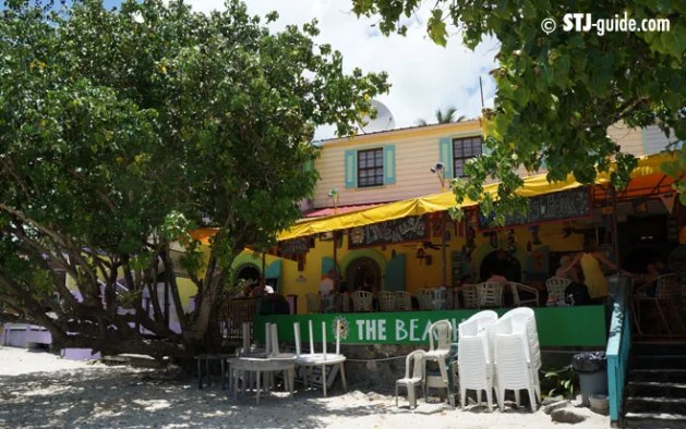 Beach Bar St. John