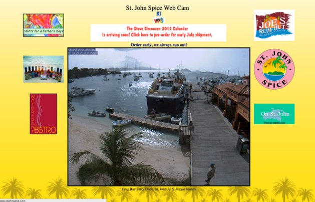 St. John Spice Webcam