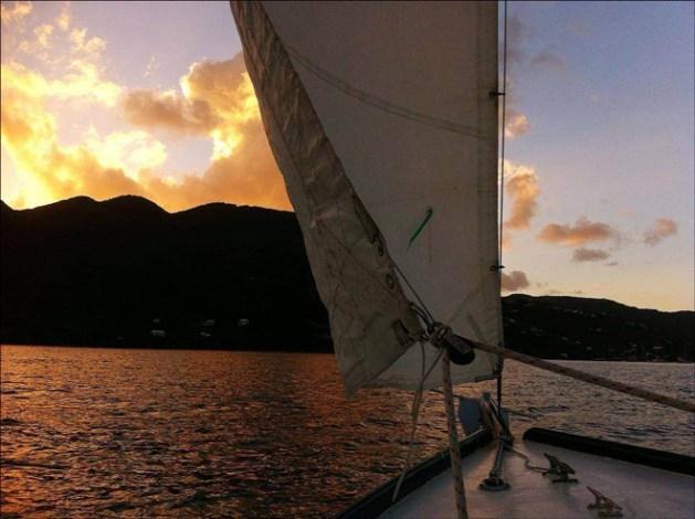 Sunset Cruise Sail Pepper St. John, USVI