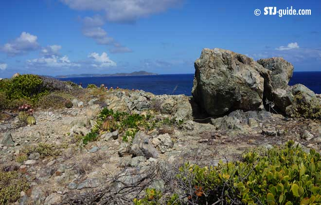 Rams Head Trail  St John Activities Guide