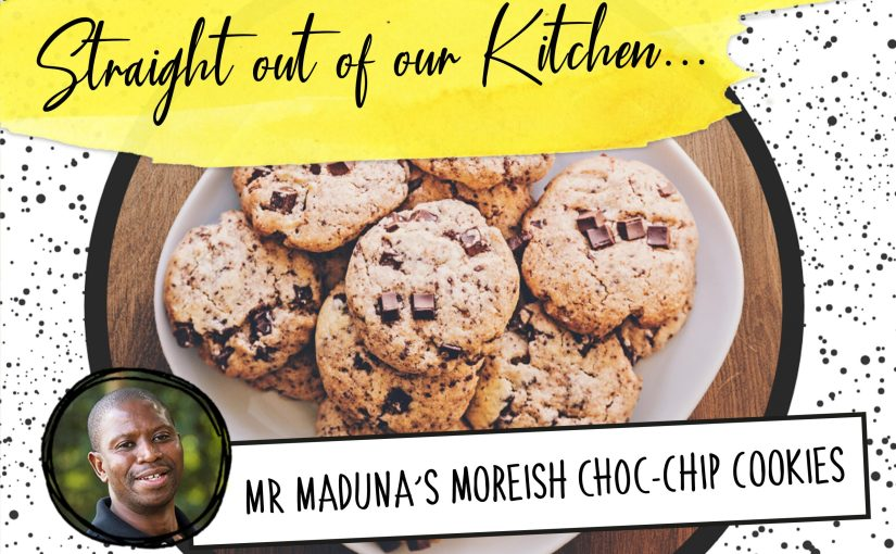 Recipe: Mr Maduna's Moreish Choc-Chip Cookies