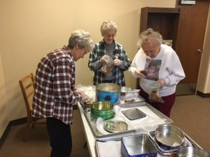 Sisters pack Christmas cookies for inmates of the Beaver County Jail.
