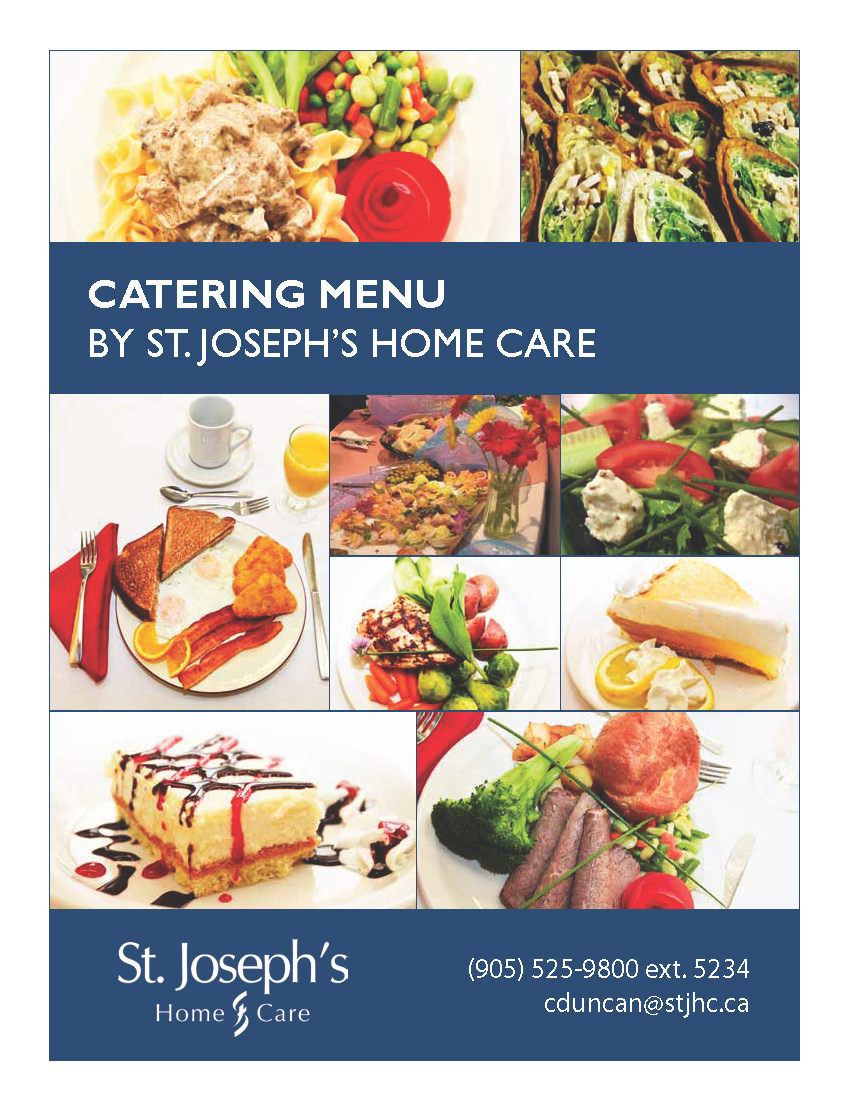 Food Services  St Josephs Home Care