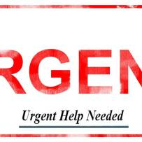 URGENT need of Donations