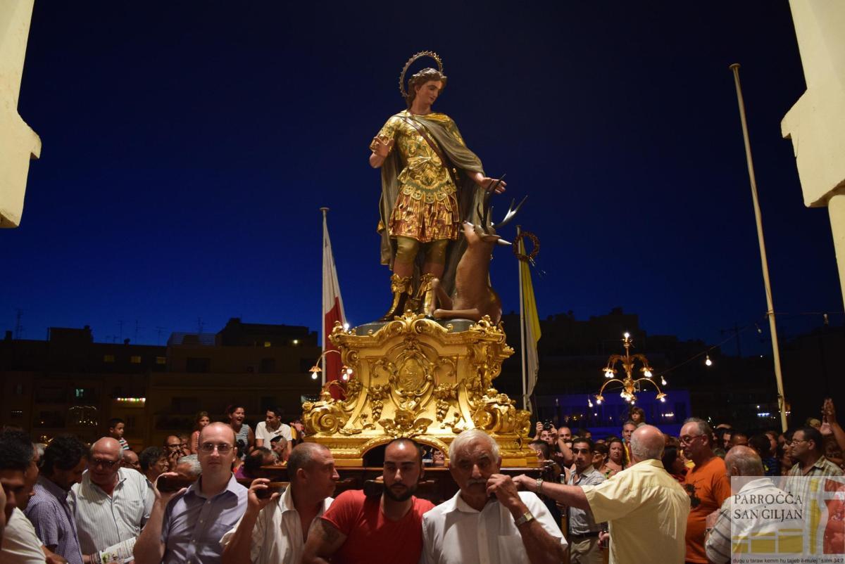 Programm taċ-Ċelebrazzjonijiet fl-okkażjoni  tal-Festa Titulari ta'      San Ġiljan Ospitalier    19 – 27 ta' Awwissu 2017