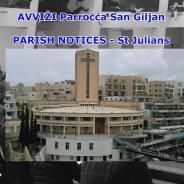 PARISH NOTICES ST JULIAN'S PARISH 13th to 14th October 2018
