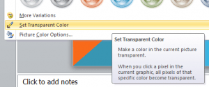 Making Images Transparent In Microsoft Powerpoint