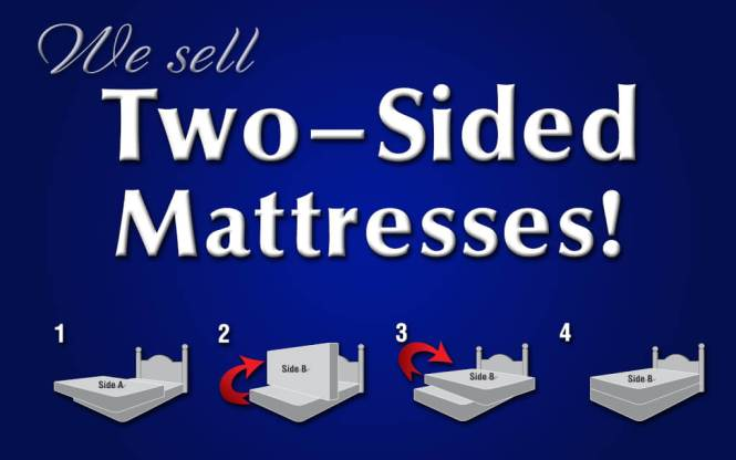 Are Two Sided Mattresses Better Than One No Flips