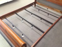 Universal Steel Bed Center Support Bars Rails to Brace ...