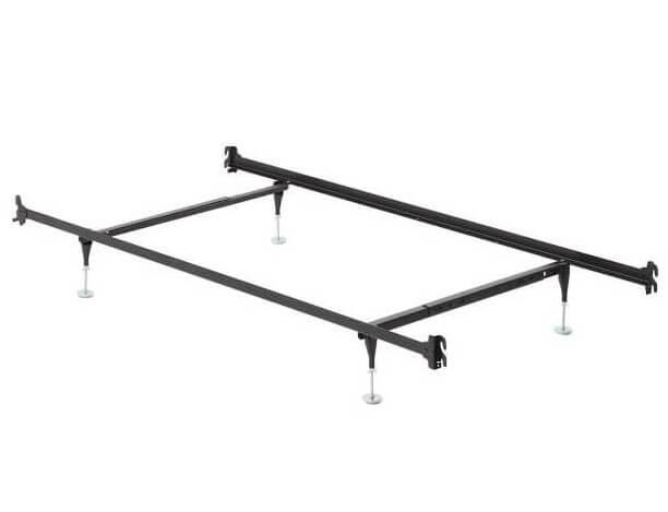 twin full hook on frame with headboard footboard brackets f71001