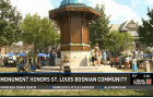 Monument Honors St. Louis Bosnian community