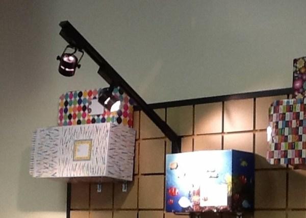 Wall Display Lighting Fixtures