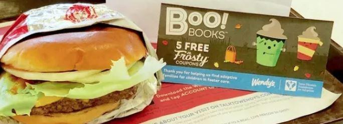 fast food halloween coupon books