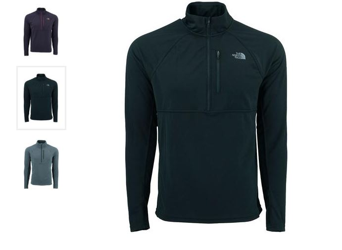8f16f09b6 The North Face Men's Ambition 1/4 Zip Jacket $39.99 Shipped (Retail ...