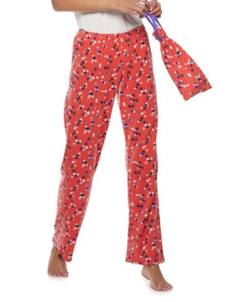 834b9a7ae16 Juniors  SO Fleece Pajama Pants in a Bag  4.49 (Retail  20) + Kohl s 25%  Off Code   Stackable Savings