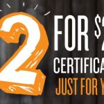 $25 Restaurant Gift Certificates For $2