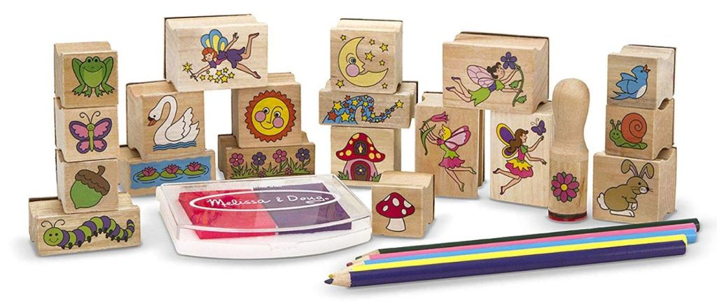 Melissa And Doug Stamp A Scene Wooden Stamp Set 6 84