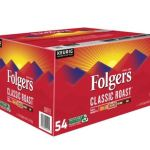 Folger's Classic Roast Coffee Pods 54-Pack$19.99
