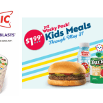 Sonic Drive-In -1/2 Price Sonic Blasts Today Only