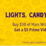 FREE $5 Amazon Video Credit when you spend $30 on Mars Wrigley Candy