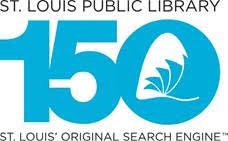 St. Louis Public Library logo celebration 150th anniversary