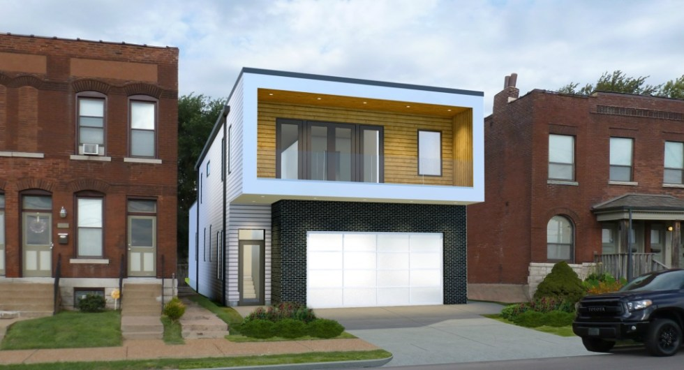 Contemporary Home coming to the grove. St. Louis housing market
