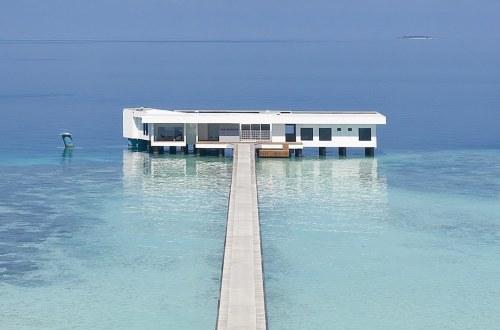 The World's First Underwater Hotel Villa