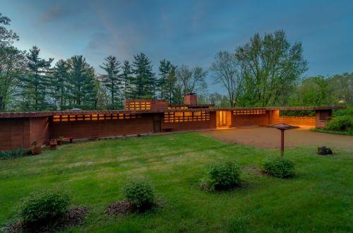 Frank Lloyd Wright's Pappas House Now Offered   865 Masonridge Road