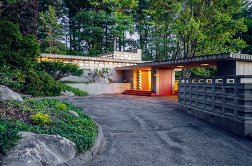 Frank Lloyd Wright Pappas House Sister House in New Hampshire