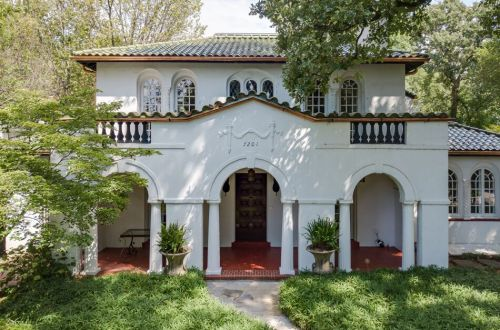 Iconic Spanish Revival on a Private Street in University City | 7201 Kingsbury Boulevard