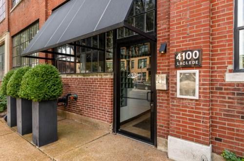 Unique Condo in Historic Dorris Car Company Lofts | 4100 Laclede Avenue #114
