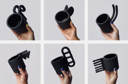 Ceramic Artist Creates 100 Wildly Varying Mug Handles in 100 Days