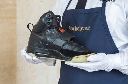 Kanye West's Yeezy Sneakers Sell for Record $1.8M at Sotheby's Auction