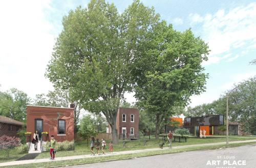 St. Louis Art Place Initiative Plans To Move Artists Into City Starter Homes To Help Revive Gravois Park
