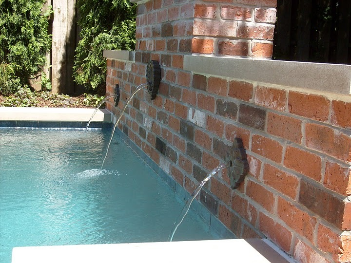 Baker Pool Construction of St Louis  Builders Backyard Fountains and Waterfalls